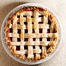 Cherry Pie with Lattice Top