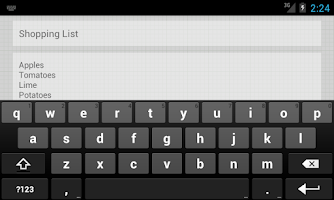 Screenshot of NoteWriter
