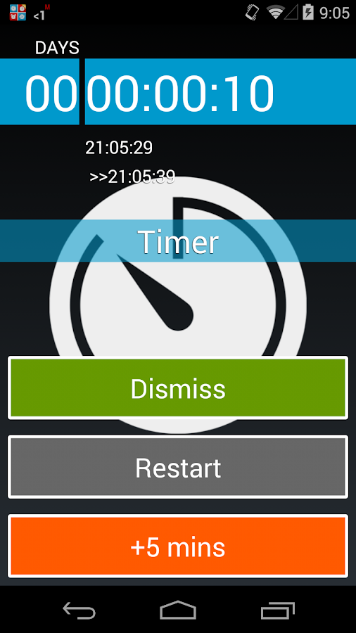 Timers4Me Timer&Stopwatch Pro Screenshot 6