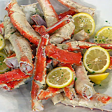 Drunken Alaskan King Crab Legs