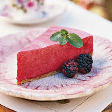 Frozen Blackberry-Lemon Chiffon Pie