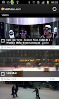 Screenshot of Skiing and Activities in Dubai