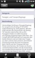 Screenshot of 1000 Flugzeuge aus aller Welt