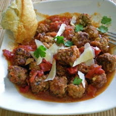Tex-Mex Spicy Meatballs