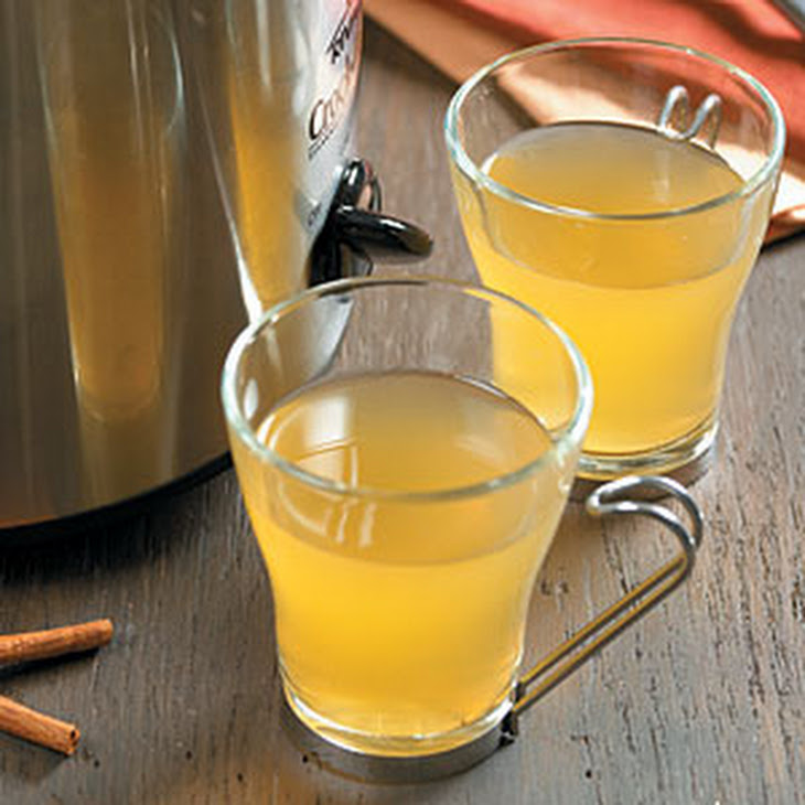 Hot Mulled Ginger-Spiced Cider Recipe | Yummly