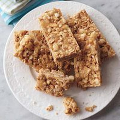Chewy Tropical Granola Bars