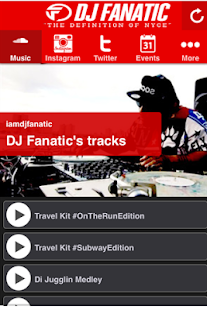DJ Fanatic - screenshot