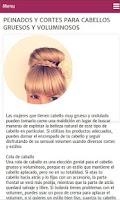 Screenshot of Peinados para Mujer
