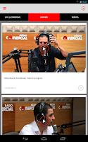 Screenshot of Radio Comercial