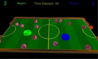 Screenshot of 3D Air Hockey