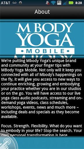 【免費健康App】MBody Yoga Mobile-APP點子