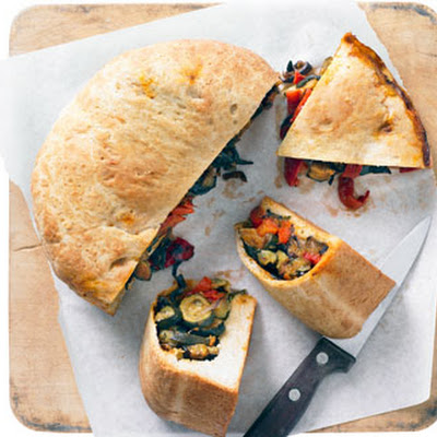 Roasted Veg Picnic Loaf
