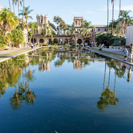 Balboa Park by Rick Johnson - City,  Street & Park  City Parks ( park, pool, fish, koy, balboa park )