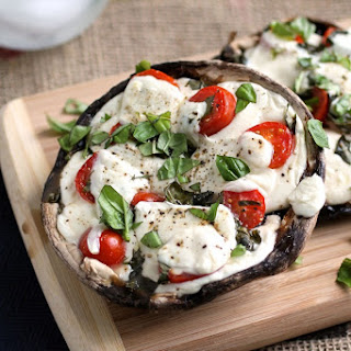 Baked Portobello Mushroom Mozzarella Recipes