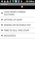 Screenshot of Storage Auction Cash