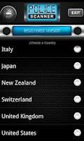 Screenshot of Police Scanner Radio PRO