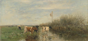 RIJKS: Willem Maris: painting 1900