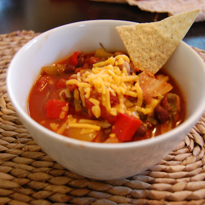 Crockpot Chickpea Chili (Vegetarian)