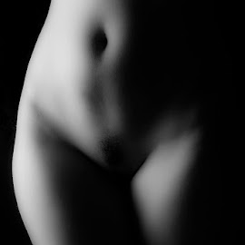 Bodyscape by Mark Davis - Nudes & Boudoir Artistic Nude ( nude, body parts, black and white, boudoir, bodyscape )
