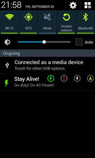 Stay Alive! Keep screen awake - screenshot
