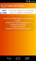 Screenshot of Chistes de Pepito