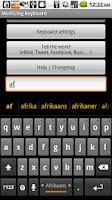 Screenshot of Plugin Afrikaans