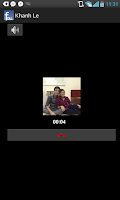 Screenshot of FCall: Facebook call, message