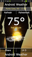 Screenshot of Android Weather - 14 Days