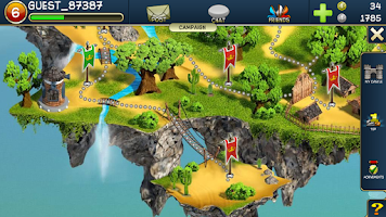 Screenshot of Crystal Rush