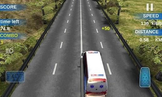 racing car game- screenshot thumbnail