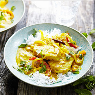 Tuna Coconut Curry