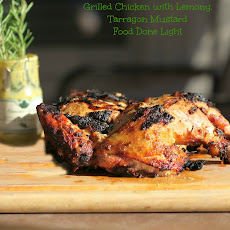 Grilled Chicken with Lemon, Rosemary, Tarragon and Mustard
