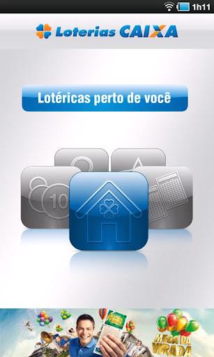 Loterias CAIXA para smartphone