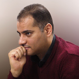 Dr.Zeid by Azher Saleh - People Portraits of Men