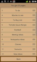 Screenshot of Notepadus Widget Free