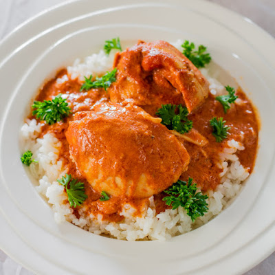 Crockpot Thai Chicken Thighs