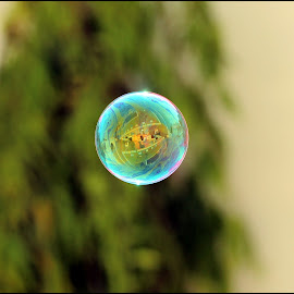 Bubble by Sai Kiran Pasupuleti - Abstract Water Drops & Splashes ( soap bubble.. )