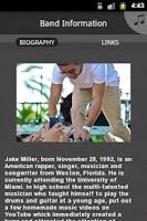 Screenshot of Jake Miller