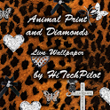 Animal Print and Diamonds Live icon