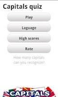 Screenshot of Logo Quiz - World Capitals