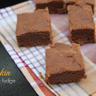Pumpkin Spice Chocolate Fudge