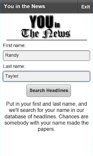 You in the News