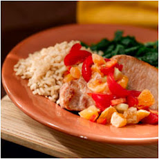 Pork Chops with Mandarin Orange Salsa