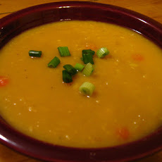 Lemony Yellow Pea Soup