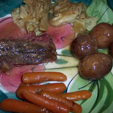 Old World Corn Beef and Vegetables (Slow Cooker)