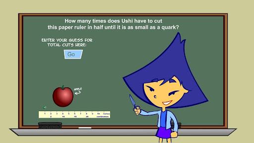 Quarked Ushi's Ruler Game