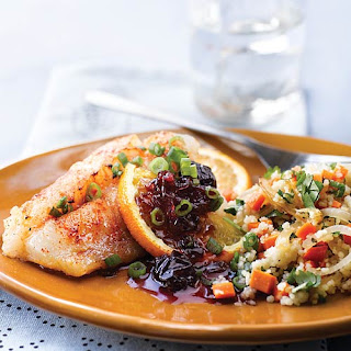 Cod with Spicy Orange Sauce