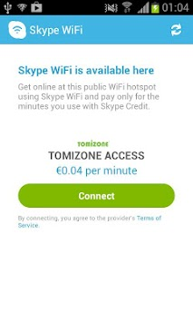 Skype WiFi APK screenshot thumbnail 5