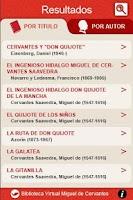 Screenshot of Biblioteca Virtual Cervantes