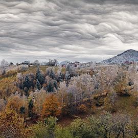 Heavy Clouds by Ariseanu Genu - Landscapes Cloud Formations